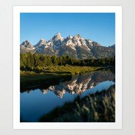 Grand Teton Sunrise Art Print