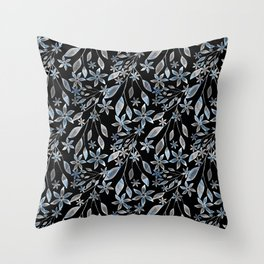 Abstract floral pattern. Throw Pillow
