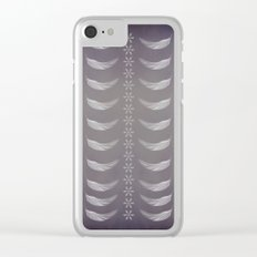 Light as a feather Clear iPhone Case
