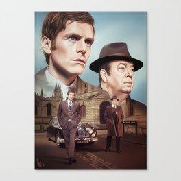 Oxford City Police Canvas Print