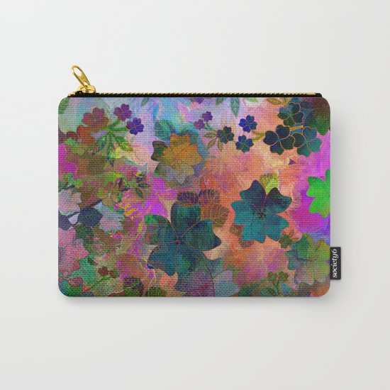 Fragrant Summer Field Carry-All Pouch