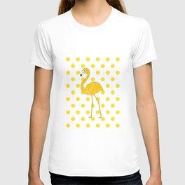 Yellow Flamingo  - Bird T-shirt