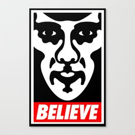 Believe - Sherlock Canvas Print
