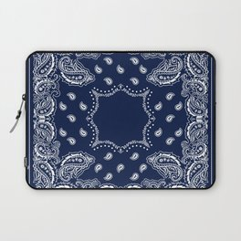 Bandana - Navy Blue - Boho Laptop Sleeve