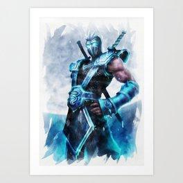 League of Legends FROZEN SHEN Art Print