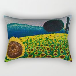 Sunflower Paradise Rectangular Pillow