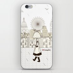 I {❤} Umbrella iPhone & iPod Skin