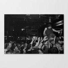 Crowd Surfing Canvas Print