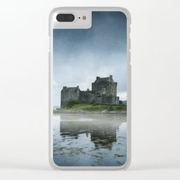 Scottish Castle Clear iPhone Case