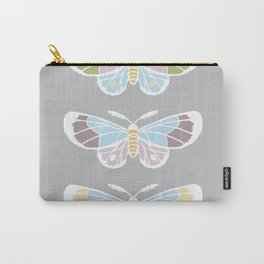 Moths, Jewel Tones Carry-All Pouch