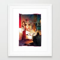 morning Framed Art Prints featuring Morning by loish
