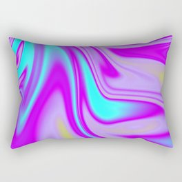 Abstract Fluid 4 Rectangular Pillow