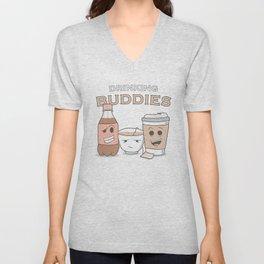 Drinking Buddies Unisex V-Neck