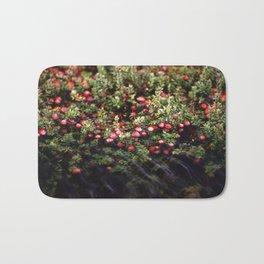 Cranberry Bog  Bath Mat