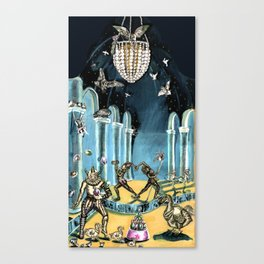Darling Dodo Canvas Print