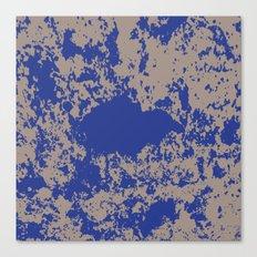 mauer fleck Canvas Print