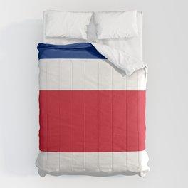 Costa Rica flag Comforters