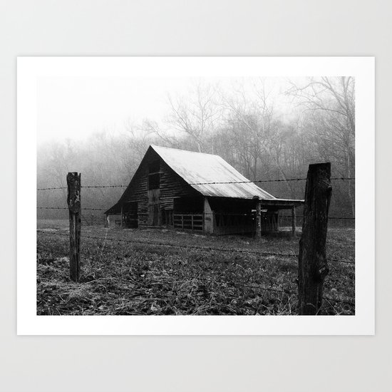 old barn II Art Print