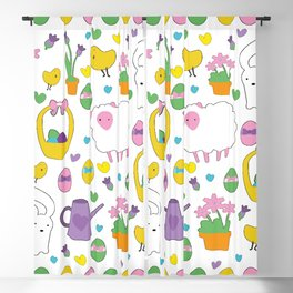 Cute Easter pattern Blackout Curtain