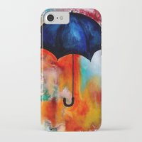 portlandia iPhone & iPod Cases featuring Parapluie by Beth Ann Short by Beth Ann Short