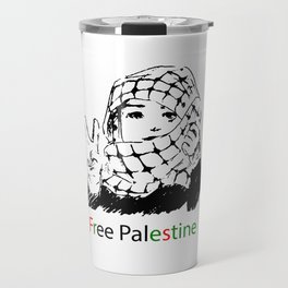 Freedom for Palestine Travel Mug