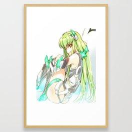 CC Framed Art Print