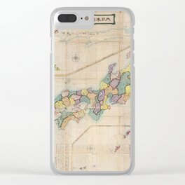 Japan 1875 Clear iPhone Case