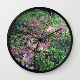 Spring in England Wall Clock