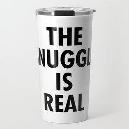 The Snuggle Is Real - Futura Travel Mug