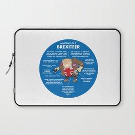 ANATOMY OF A BREXITEER Laptop Sleeve