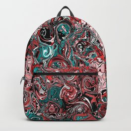 Abstract mess I Backpack