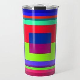 geometric 1 Travel Mug