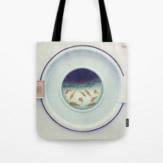 Tumbling goldfish Tote Bag