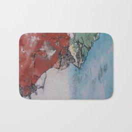 Abstract Wall Print Bath Mat