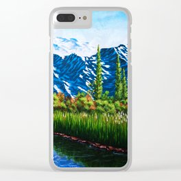 Heaven On Earth Clear iPhone Case