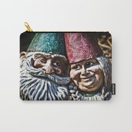 Garden Gnome Couple Carry-All Pouch