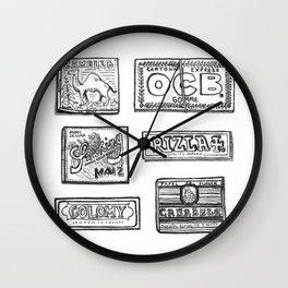 Papel de fumar Wall Clock