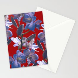 Orchids in Wine Stationery Cards