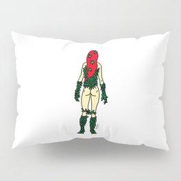 Superhero Butts - Green Ivy Pillow Sham