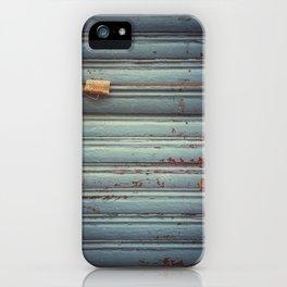 Closed shutter iPhone Case