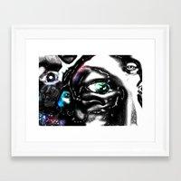 study Framed Art Prints featuring Study by John Hansen