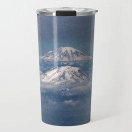 Mount Adams Mt Rainier - PNW Mountains Travel Mug