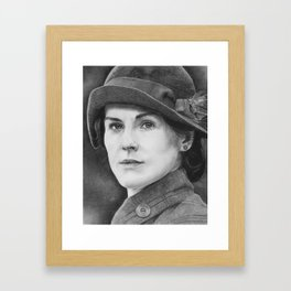 Lady Mary Quite Contrary Framed Art Print
