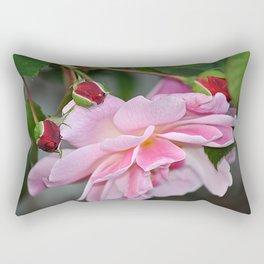 Roses Nture Flowers  Rectangular Pillow