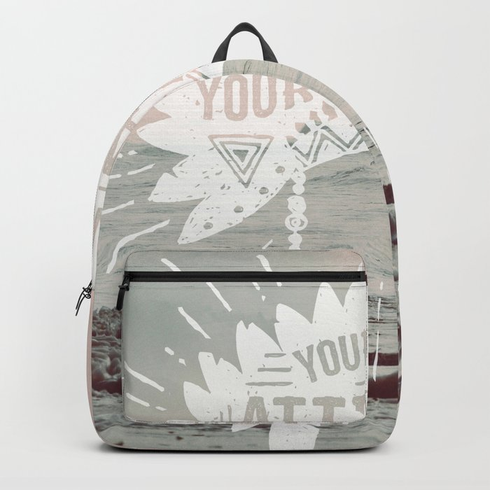 Your Vibe Attracts Your Tribe - Pacific Ocean Backpack