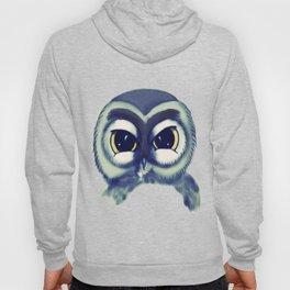 Owl Blue Hoody