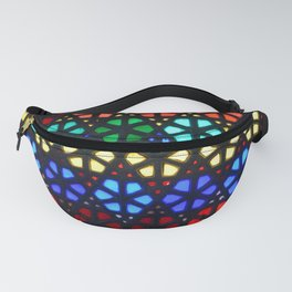 Geometric Stained Glass Fanny Pack