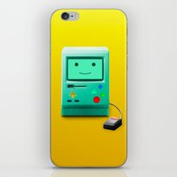 bmo iPhone & iPod Skins featuring BMO by Karolis Butenas