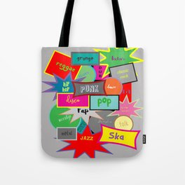 What Are You Listening To? Tote Bag