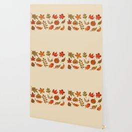 Sad fallen leaves Wallpaper